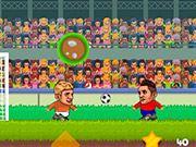 Football à 4 têtes de joueurs