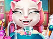 Анжела у реалного дантиста