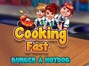 Cooking Fast: Hotdogs And Burgers Craze