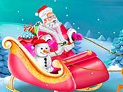 Декор Санок Деда Мороза
