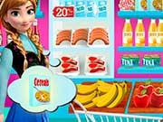 Эльза продавец в продуктовом магазине