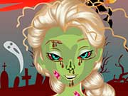 Эльза злой зомби