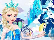 Замороженная Эльза поиск предметов
