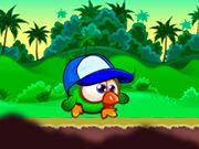 Прыгающая зелёная курица