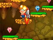 Прыгающий шахтер минер