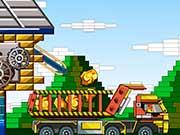 Лего перевозки на грузовике