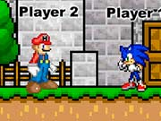 Mario and Sonic Fight