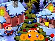 Счастливая обезьянка Рождественская елка
