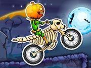 Гонки на мотоциклах в ночь на Хэллоуин