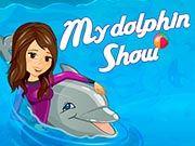 Выступление дельфина