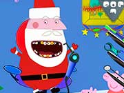 Дед Мороз Пеппы у зубного