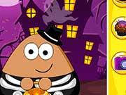 Поу бездельничает на Хэллоуин
