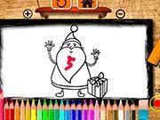 Дед Мороз Раскраски для Детей