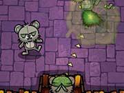 Плюшевый медведь Зомби Пулемет